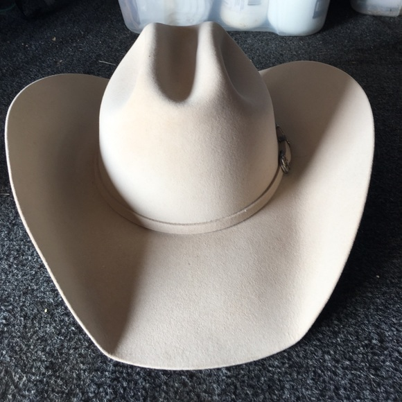 4248f5dfa87b0 cavenders Accessories - Silver belly western felt hat